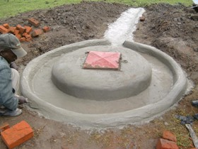 capping the well to prevent contamination is important