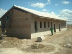 classrooms at the school in Zimbabwe near completion