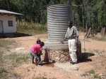 water tank to maintain wter supply to school