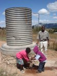 water tank to maintain wter supply to school when power is off
