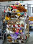it's not just clothes get sent to Africa- soft toys are packed in and omongst the clothes in the bales that are sent