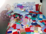 knitted items for Zimbabwean orphans and other vulnerable children