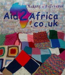 Blankets knitted by Inner Wheel members of the Arbury Cllub of Nuneaton